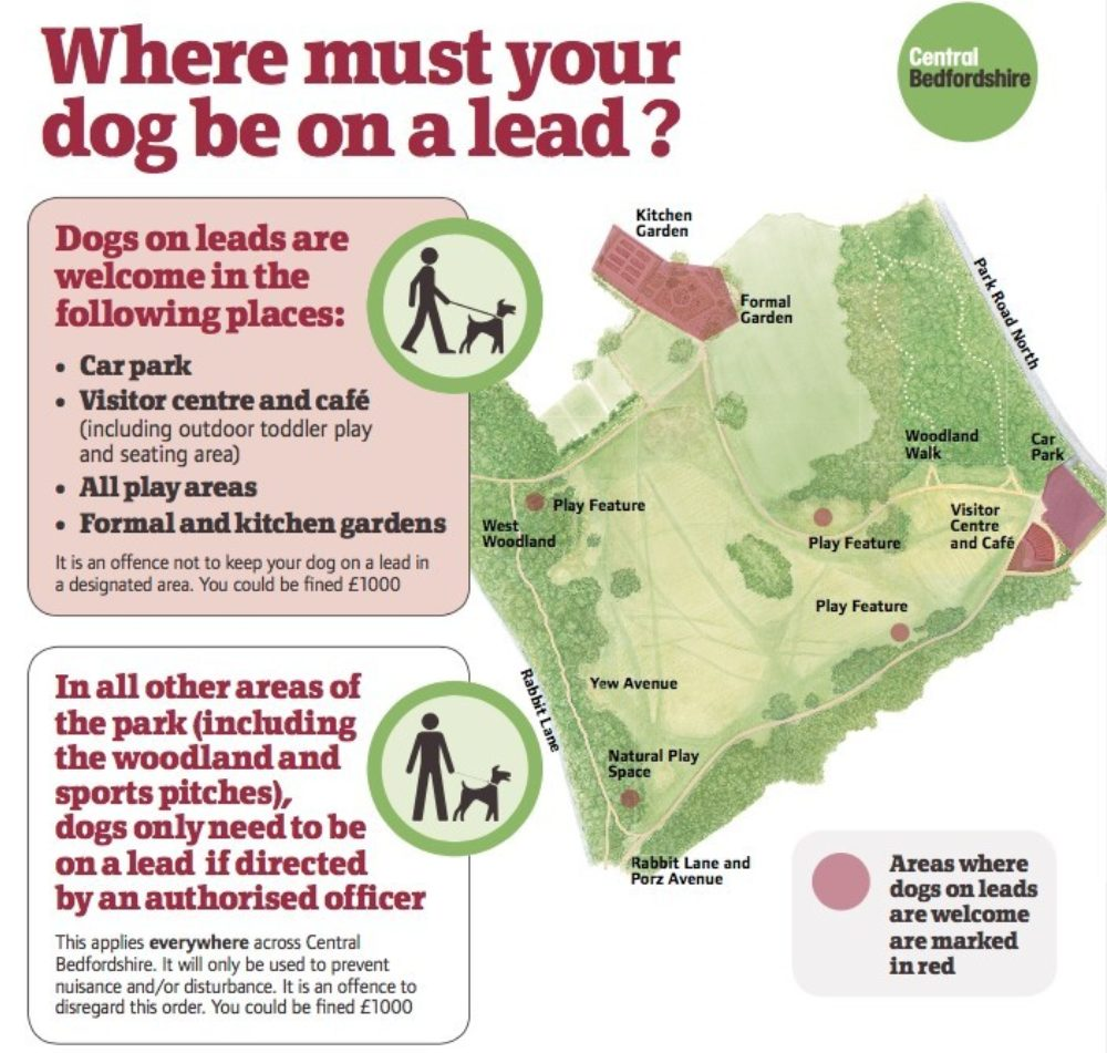Dogs On Lead Map
